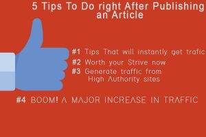How To Promote Content After Publishing To Get Instant Traffic?