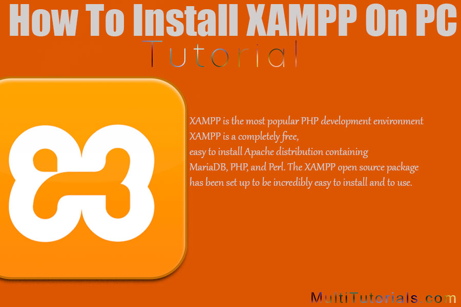 how to install xampp on pc