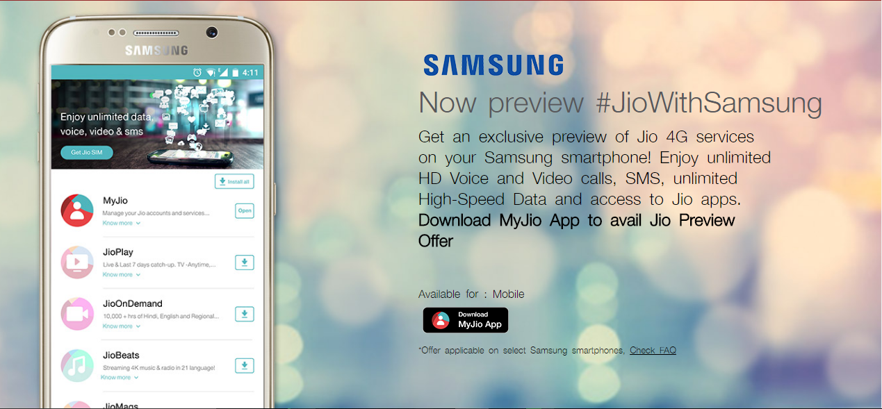Jionet preview offer
