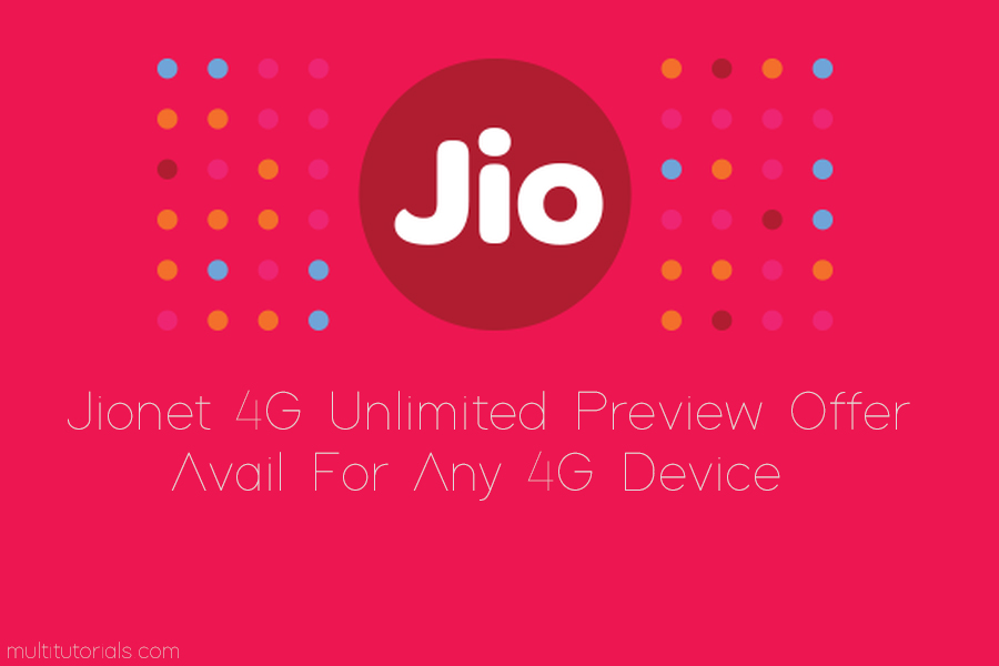 how to get jionet 4g sim card