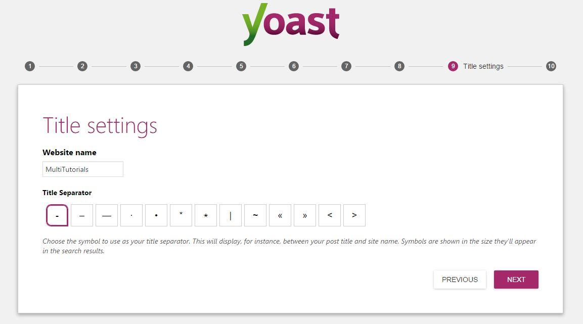 article intending yoast