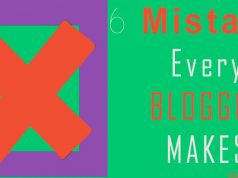 biggest mistakes bloggers make