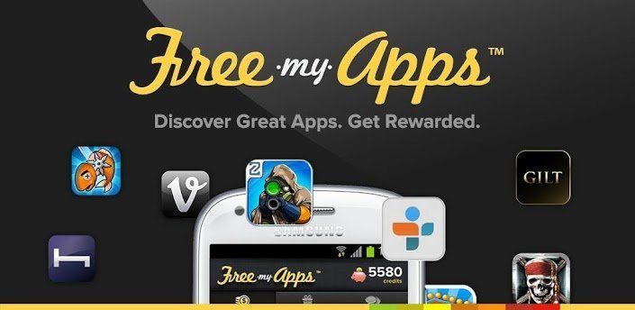 freemyapps to earn free google play credits