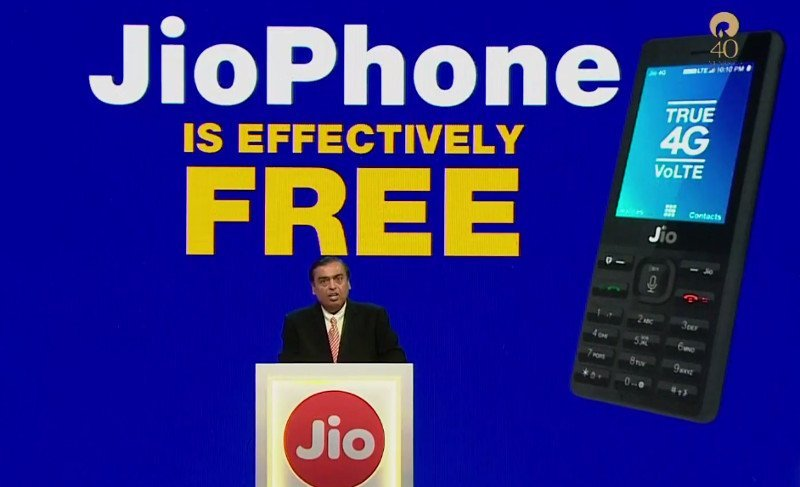 Jio Announce Free 4G VoLTE Phone, Here's How To Book One!