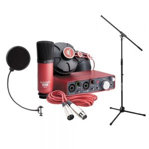 focusrite scarelett best microphone for youtubers